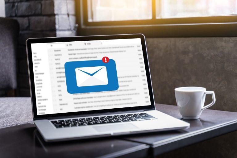 email no computador