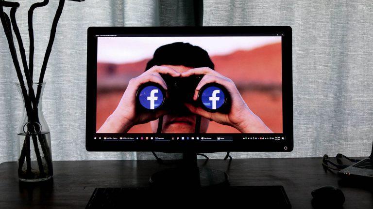 Binoculos com facebook
